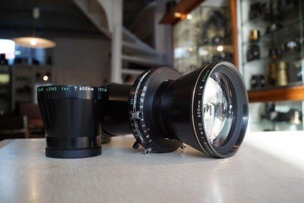 Nikon Nikkor-T*ED 9/600 + 12/800 lens kit in Copal 3