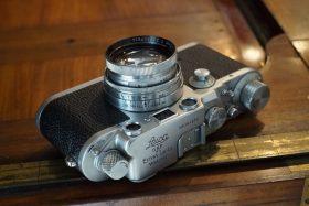 Leica IIIc N-L + Leitz Summitar 5cm 1:2