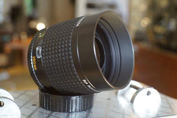 Minolta RF Rokkor 1:5.6 / 250mm lens