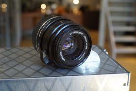 Minolta M-Rokkor 2.8 / 28mm, Leica M mount