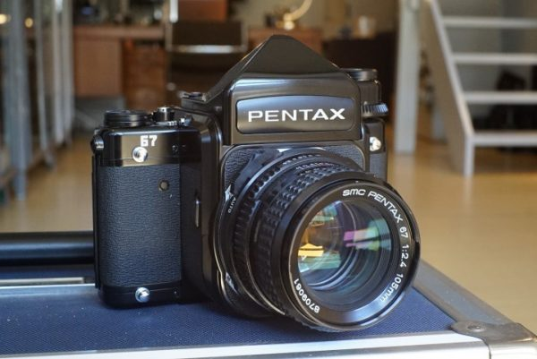 Pentax 67 + Takumar 2.4 / 105mm lens – Rental