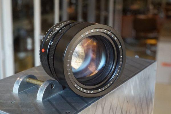 Leica Leitz Summicron-R 1:2 / 90mm, 3cam