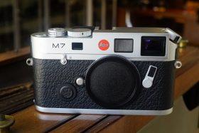 Leica M7 Chrome body