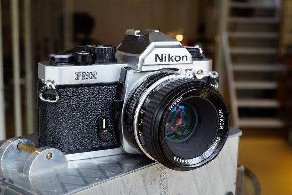 Nikon FM-2 + Nikkor 1:2 / 50mm AI