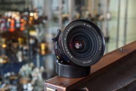 Leica Leitz Elmarit 2.8 / 21mm Boxed + finder