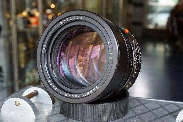 Leica Leitz Summicron-R 90mm f/2 3-cam lens