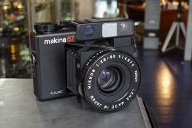 Plaubel Makina 67 met Nikkor 80mm