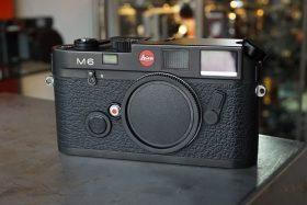 Leica M6 Black body, Boxed