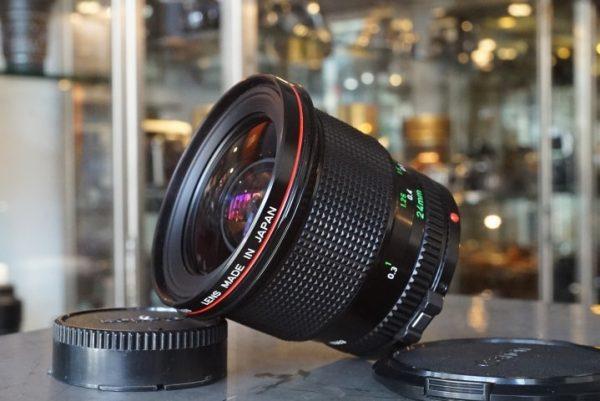 Canon FD 1:1.4 / 24mm L lens