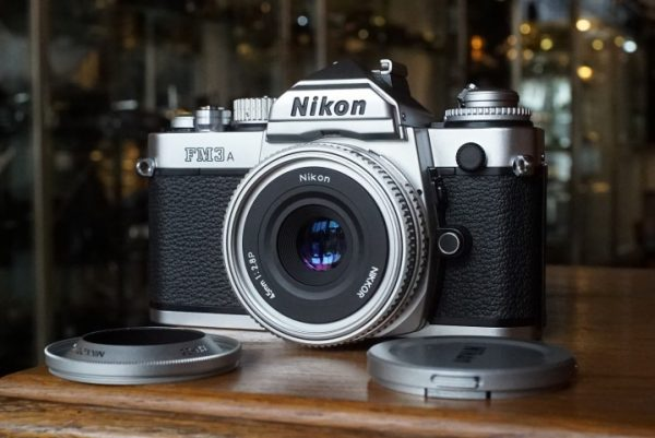 Nikon FM3a kit with Nikkor 45mm 1:2.8P