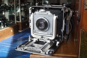 MPP Micro Technical 5×4 camera + Heliar 150mm
