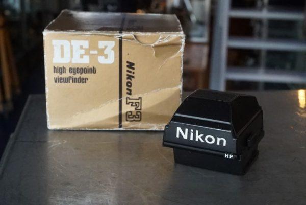 Nikon DE-3, HP finder for Nikon F3
