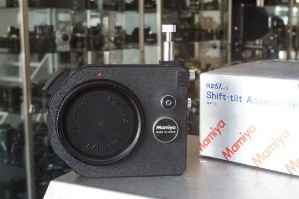 Mamiya RZ proII Shift-Tilt adapter NI701, Boxed