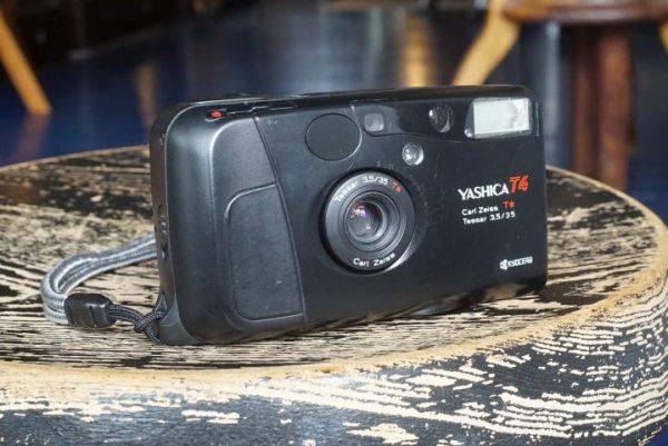 Yashica T4 w/ 35mm f/3.5 Tessar lens