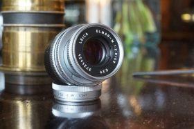 Leica Elmar-M 1:2.8 / 50mm E39, Chrome, Boxed
