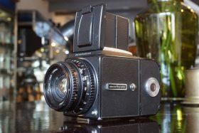 Hasselblad 500C/M w/ 80mm f/2.8 Planar + A12