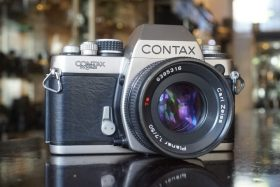 Contax S2 60 years+ Zeiss Planar 50mm f/1.7 AE