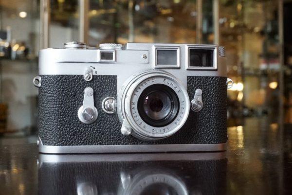 Leica M3 + Leitz Elmar 2.8 / 50mm lens