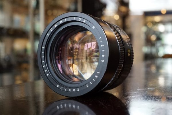 Leica Leitz Summicron-R 1:2 / 90mm 3-cam lens