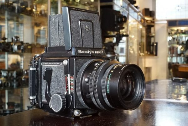 Mamiya RB67 + 3.8 / 90mm Mamiya lens – Rental