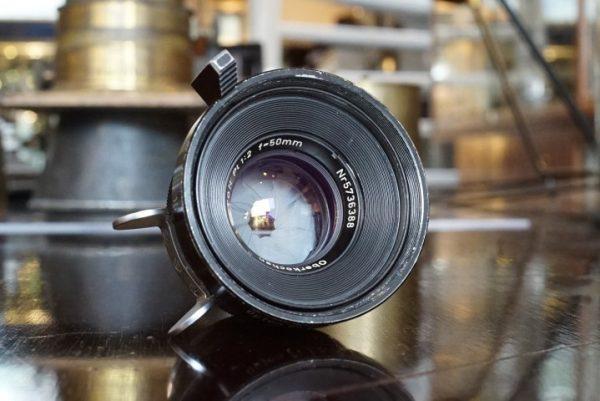 Zeiss Planar / Opton PL 1:2 / 50mm, 35mm Arriflex
