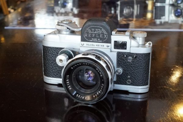 Alpa Reflex 6b + Schneider Curtagon 35mm f/2.8