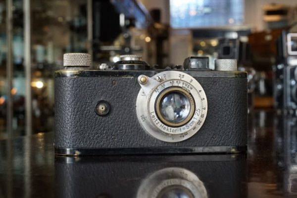 Leica I Standardised + Hektor 2.5 / 50mm, 4-digit body