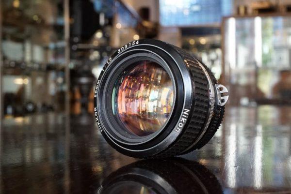 Nikon Nikkor 50mm f/1.2 AIS