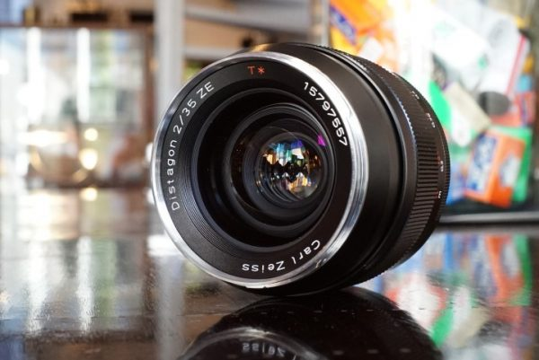 Zeiss ZE Distagon 35mm f/2 for Canon EF