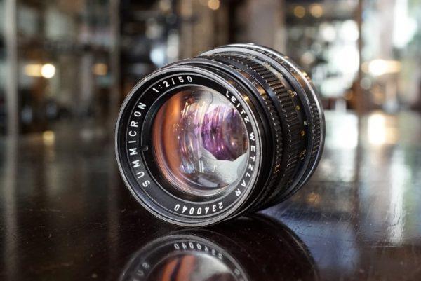 Leica Leitz Summicron 50mm f/2 M V3
