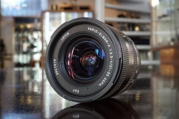 Leica Vario-Elmar-R 21-35mm f/3.5-4 ASPH ROM Boxed