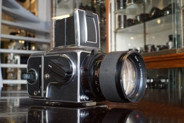 Hasselblad 2000FCW + Zeiss Planar 110mm f/2