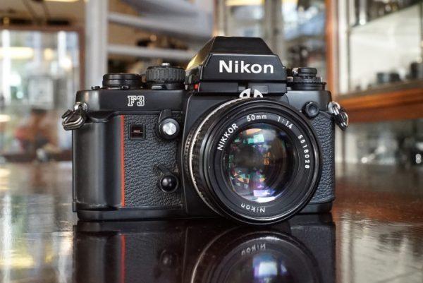 Nikon F3 + Nikkor 50mm f/1.4
