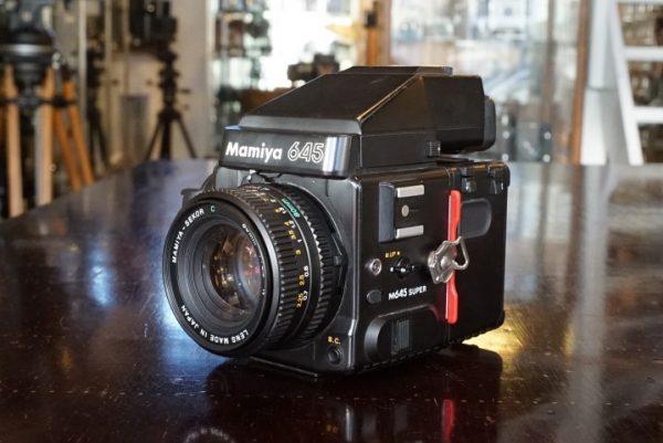 Mamiya 645 Super w/ AE Prism + Sekor 80mm f/2.8 N