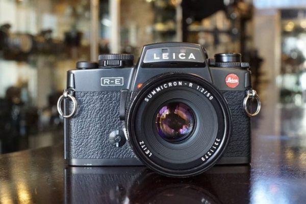 Leica R-E + Summicron-R 50mm f/2 R Only