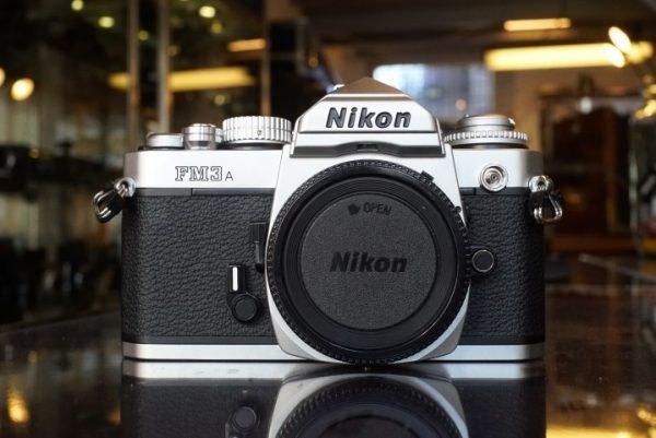 Nikon FM3A Chrome body
