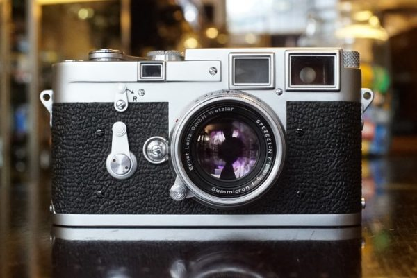 Leica M3 DS + Summicron 5cm f/2 Collapsible M