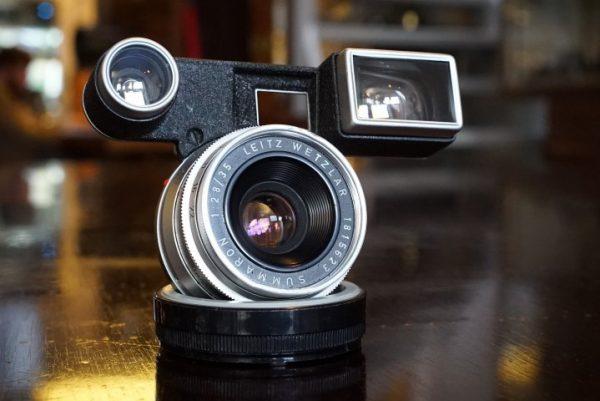 Leica Leitz Summaron 35mm f/2.8 w/ goggles
