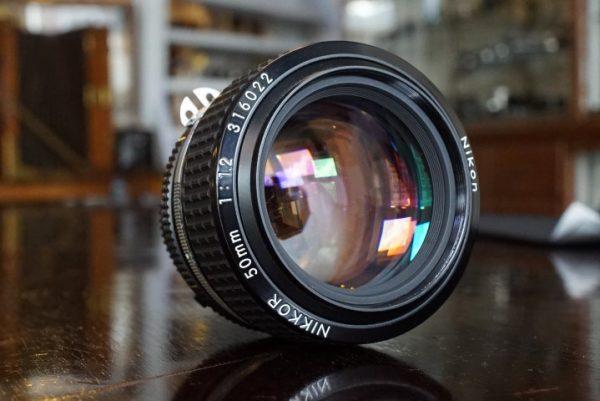 Nikon Nikkor 50mm f/1.2 AIS Boxed