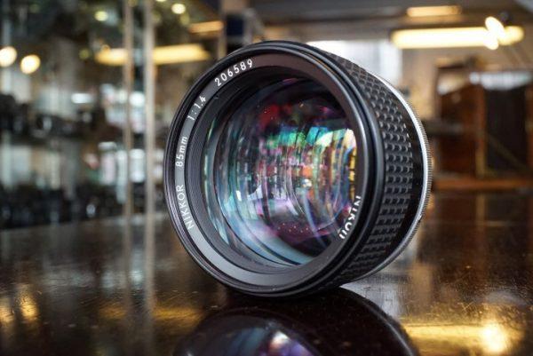 Nikon Nikkor 85mm f/1.4 lens