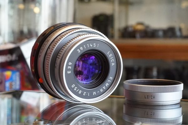 Leica Elmar-M 50mm f/2.8 E39 Chrome lens
