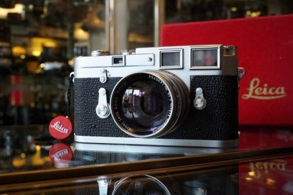 Leica M3 + Summarit 1.5 / 5cm lens, Boxed