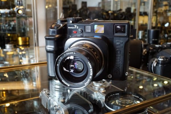 Mamiya 7II + Mamiya 4 / 80mm Sekor lens