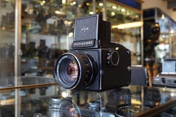 Mamiya M645 kit + Mamiya Sekor 2.8 / 80mm lens – Rental