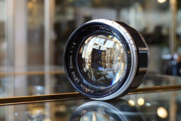 Canon 50mm f/1.2 LTM lens