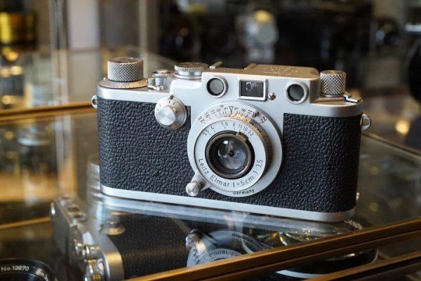 Leica IIIF RD + Elmar 5cm f/3.5