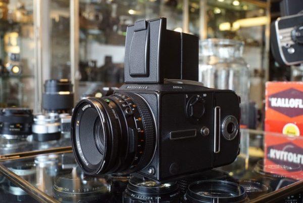 Hasselblad 503CW + A12 + CF Planar 80mm f/2.8
