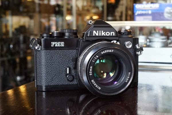 Nikon FM2N + Nikkor 50mm f/1.4 AI