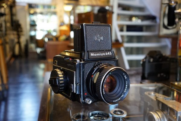 Mamiya 645 1000S kit + Sekor 80mm f/2.8