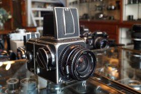 Hasselblad 500C + C16 + Planar 80mm f/2.8 T* C